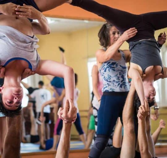 AcroYoga Foundation of Flow with John Karvelis & Evangelia Mosiou