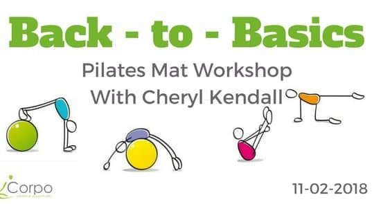 Back to Basics Pilates Mat Workshop with Cheryl Kendal