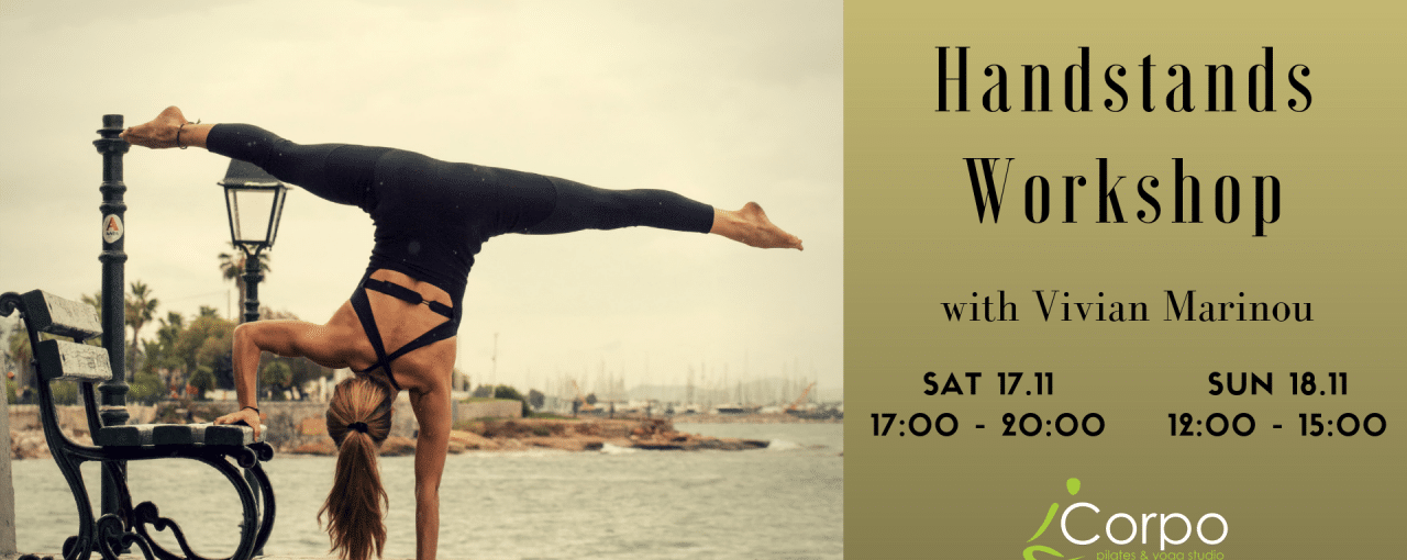 Handstands Workshop with Vivian Marinou