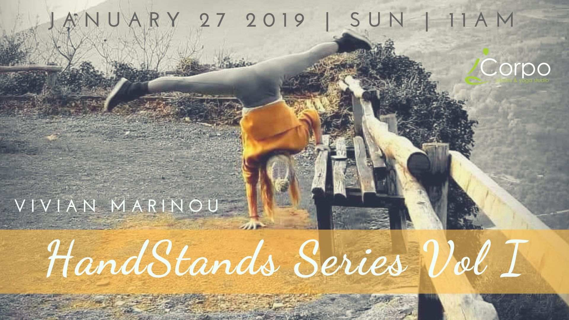Handstands Series Vol I by Vivian Marinou 27th of January