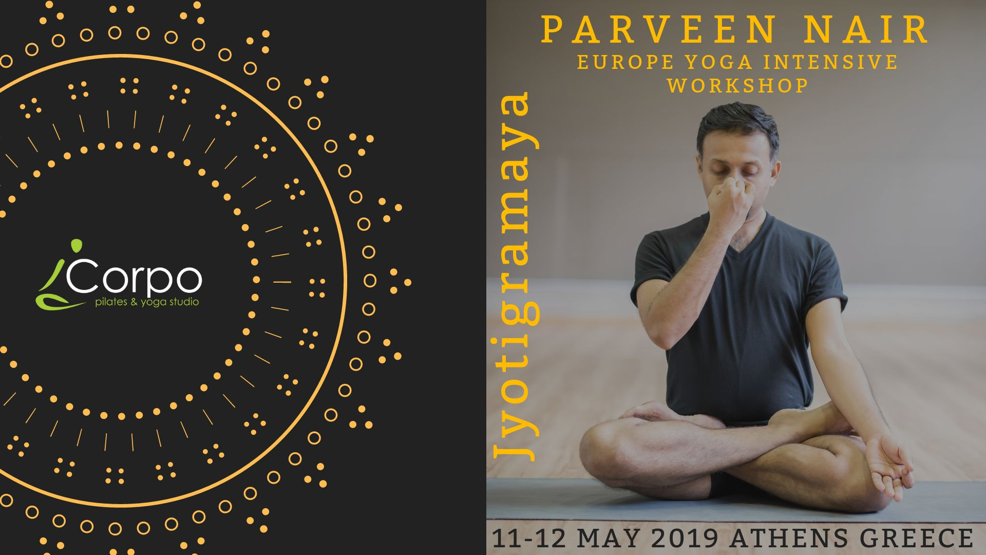 Yoga Intensive Workshop with Parveen Nair 11th & 12th of May