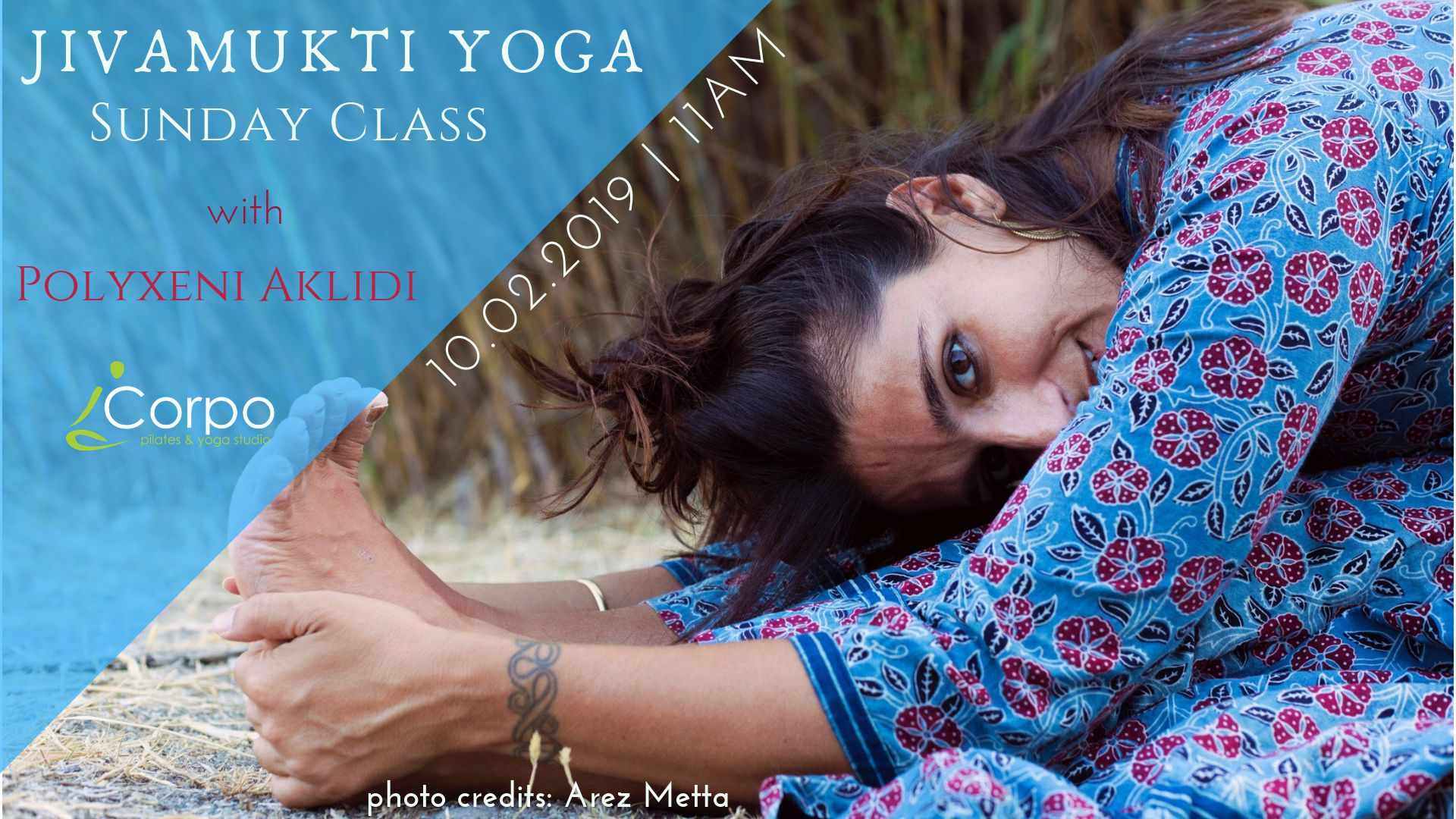 Jivamukti Yoga Sunday Class with Polyxeni Aklidi 10th of February